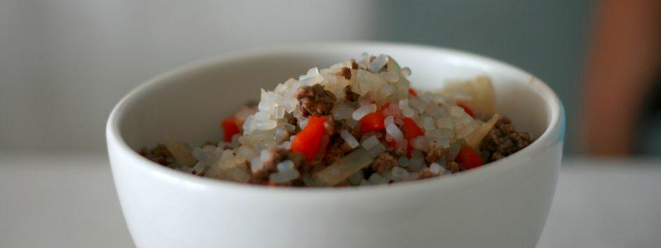 arroz dukan pimiento
